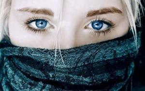 woman blue eyes free wp